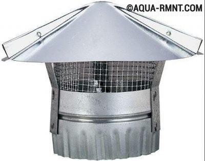 Зонтик на вентиляционную трубу