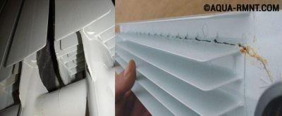 Разрушение алюминиевых радиаторов