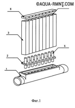 Схема пластикового радиатора