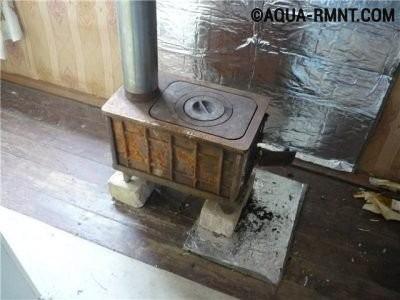 Меры пожарной безопасности при установке буржуйки