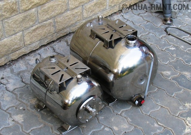 Нержавеющие гидроаккумуляторы
