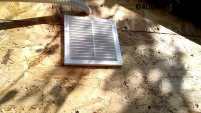 Принудительная вентиляция на фасаде