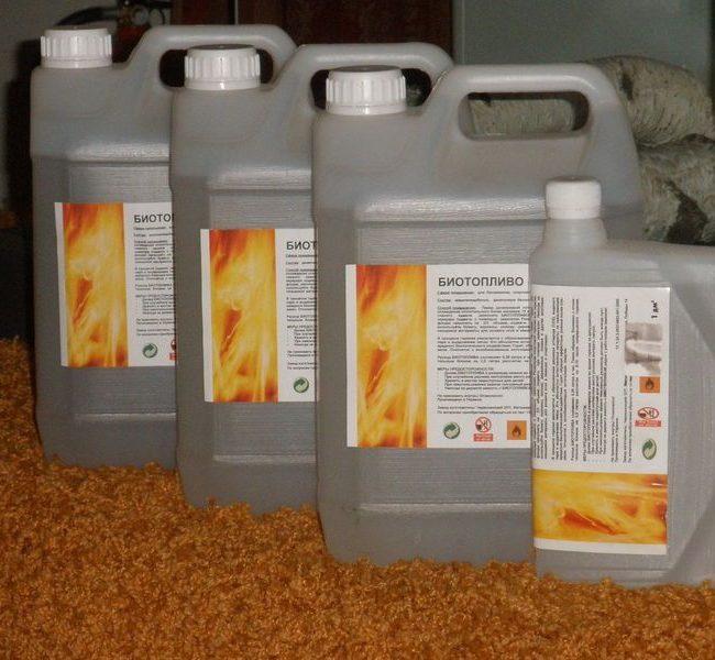 Жидкое топливо для биокаминов