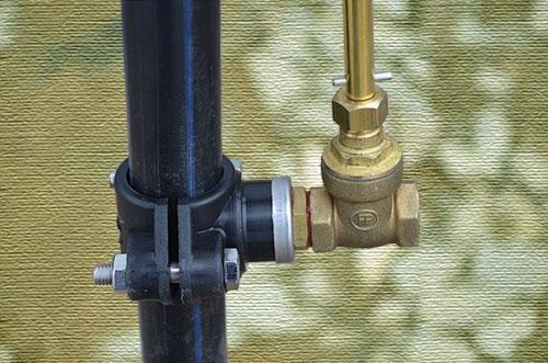 Клапан ручного слива DEBE Pumpar Du 32