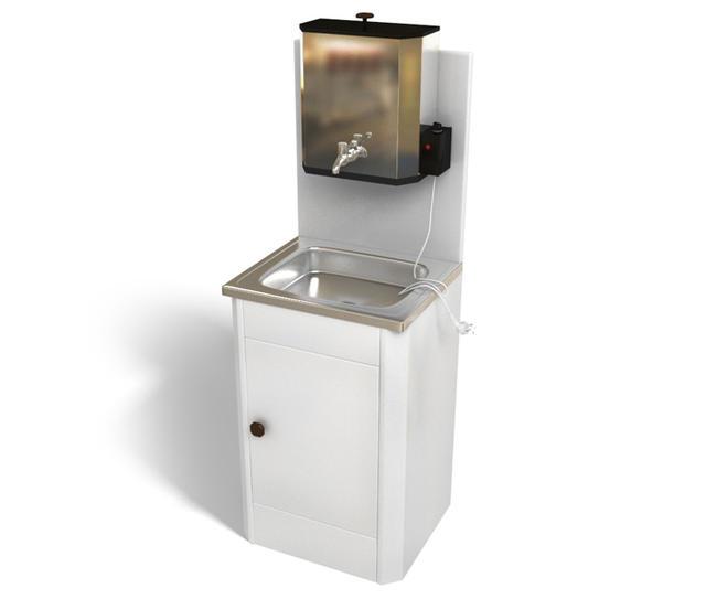 Наливной электрический водонагреватель