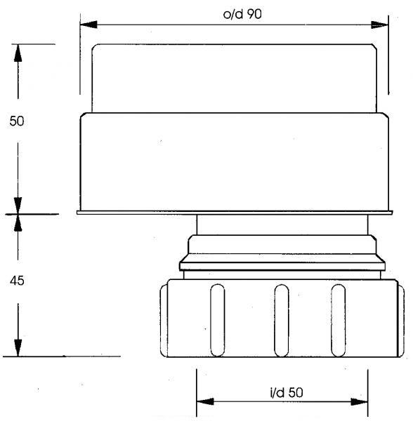 Модификация аэратора 50 мм