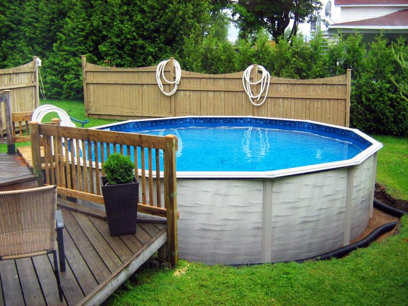 Строим бассейн на даче своими руками из подручных материалов