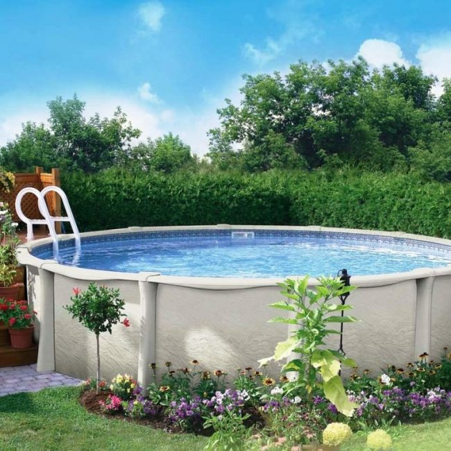 Морозостойкий бассейн
