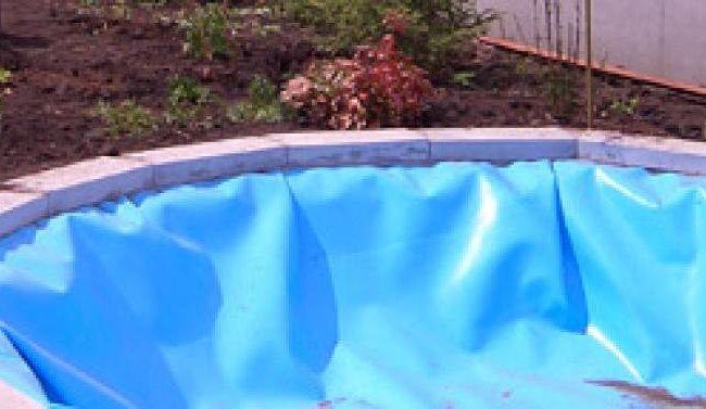 Бассейн из водонепроницаемой пленки