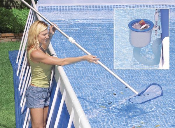 Уход за бассейном
