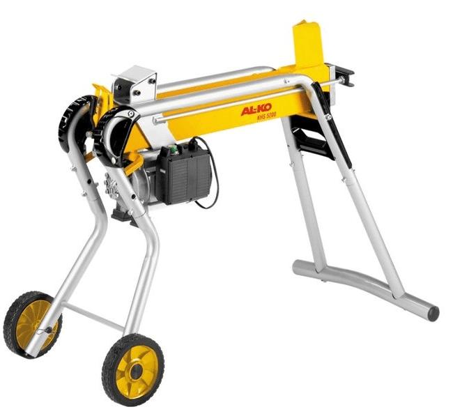 Электрический дровокол с приводом от электродвигателя
