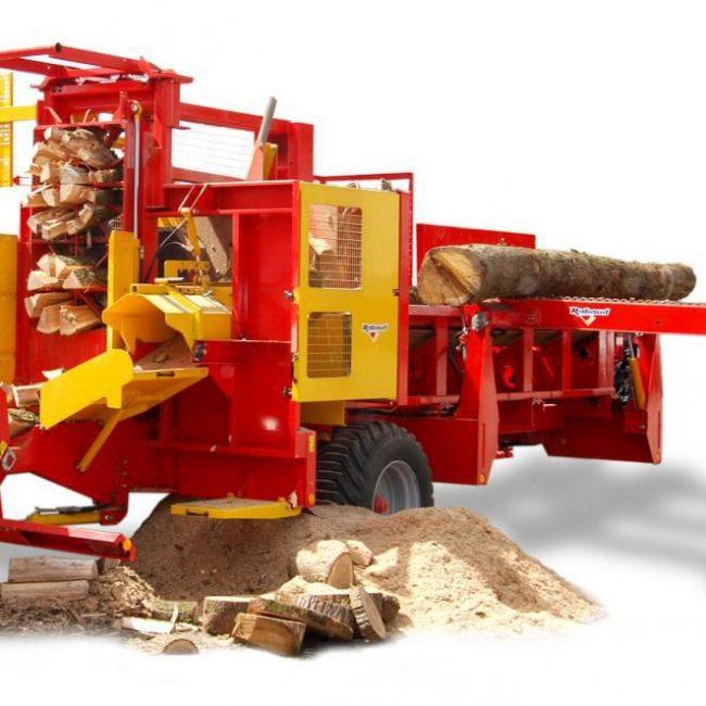 Промышленная модель дровокола