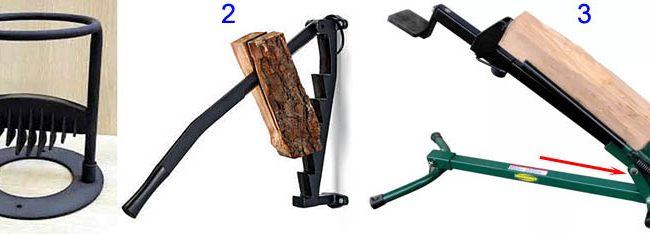 Виды простых моделей дровоколов