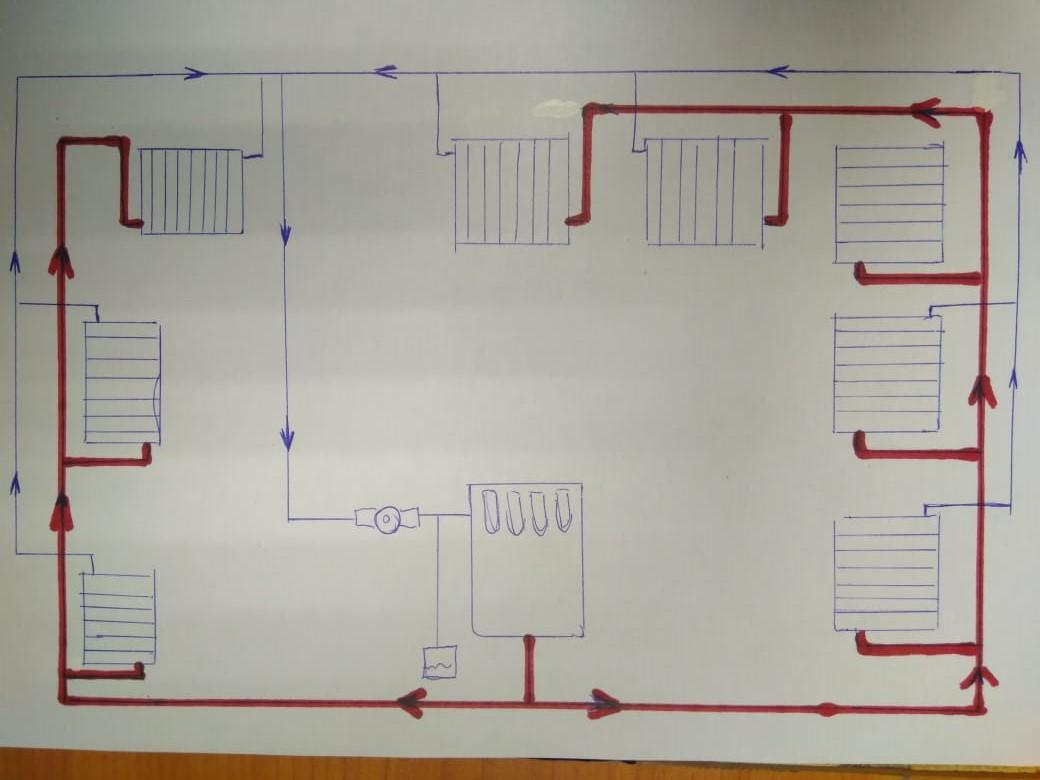 Схема проектного