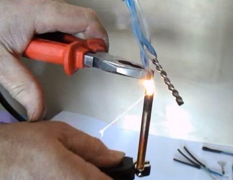 Соединение проводов методом сварки
