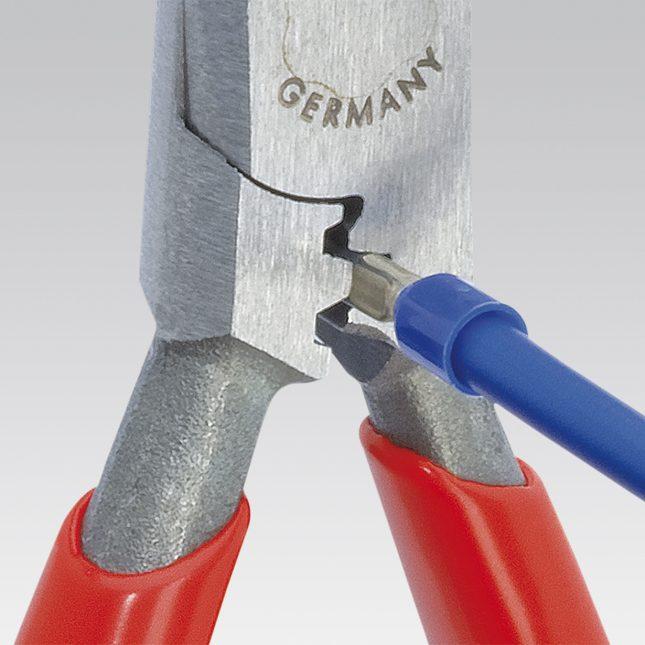 Соединение провода методом сжима