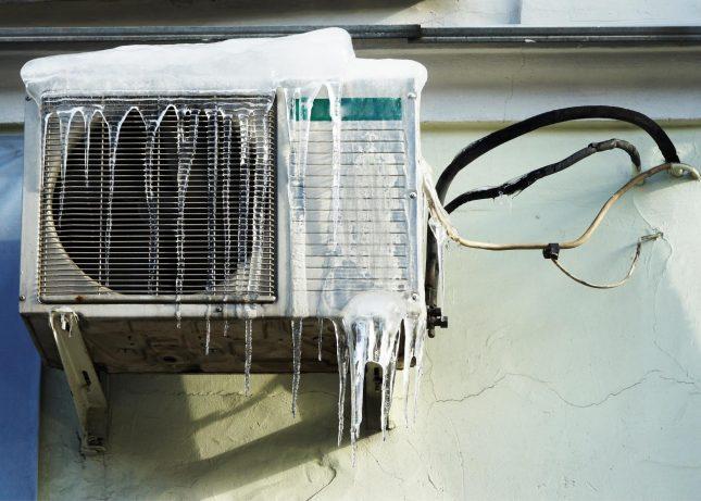 Использование кондиционера зимой
