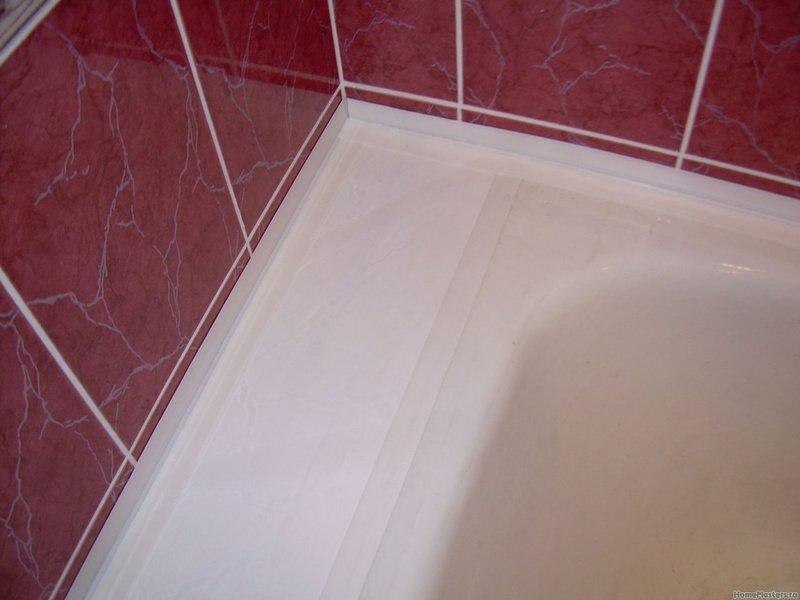 Как и чем заделать щель между стеной и ванной: практические способы