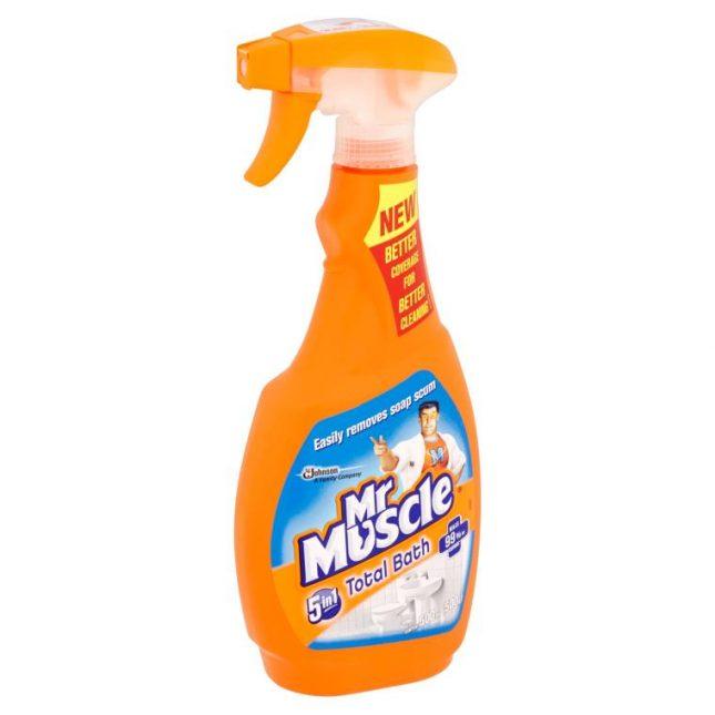 Мистер Мускул для ванной комнаты