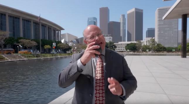 Марти Адамс, глава Департамента водоснабжения и энергетики Лос-Анджелеса