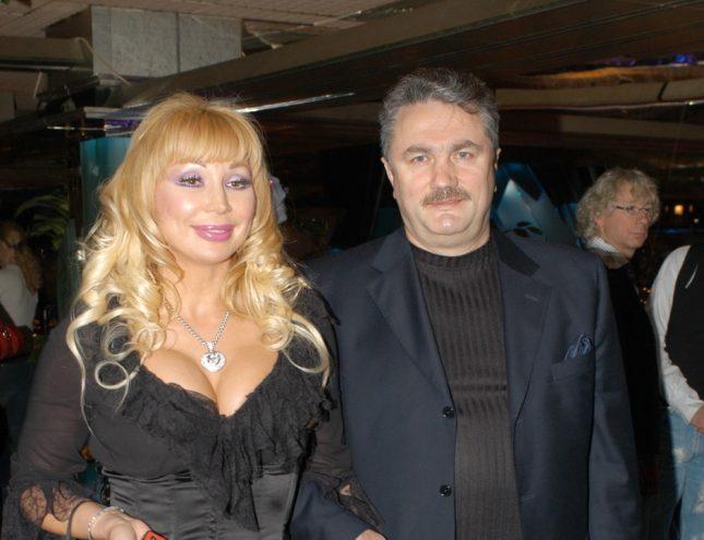 Маша Распутина с супругом
