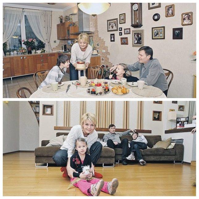 квартира Юлии Меньшовой