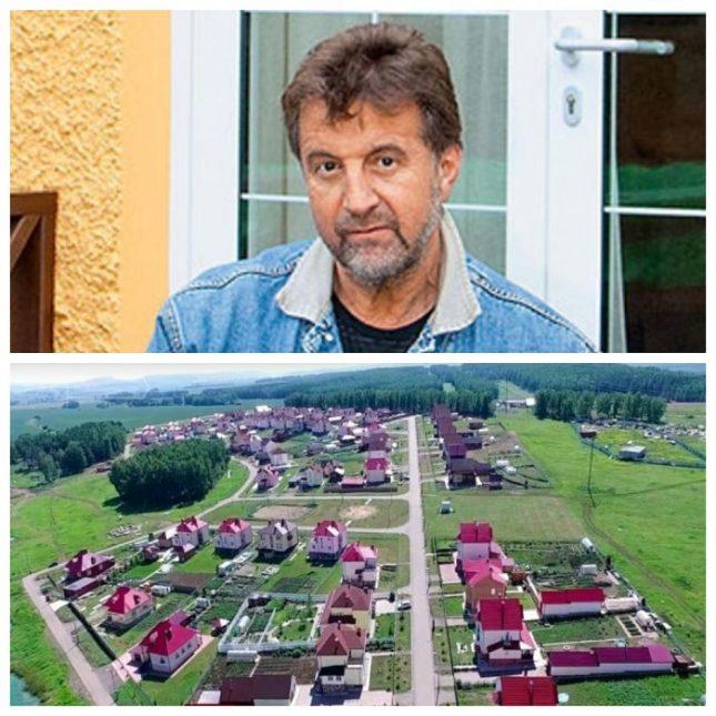 Леонид Ярмольник и посёлок, где он живёт