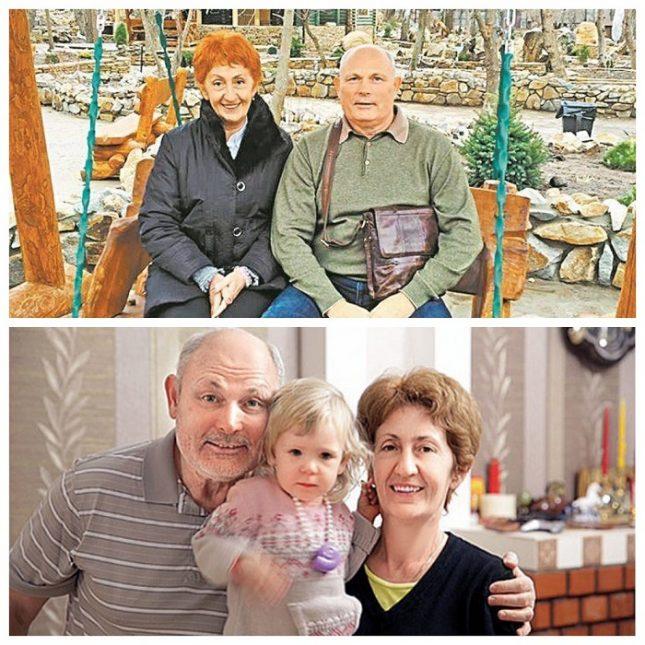 Геннадий Малахов с женой