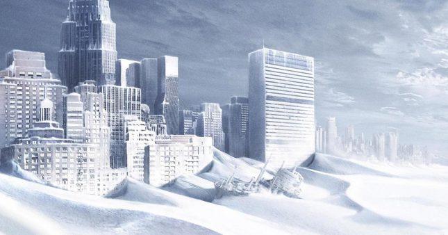 Земля замёрзла