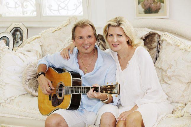 малинин с женой