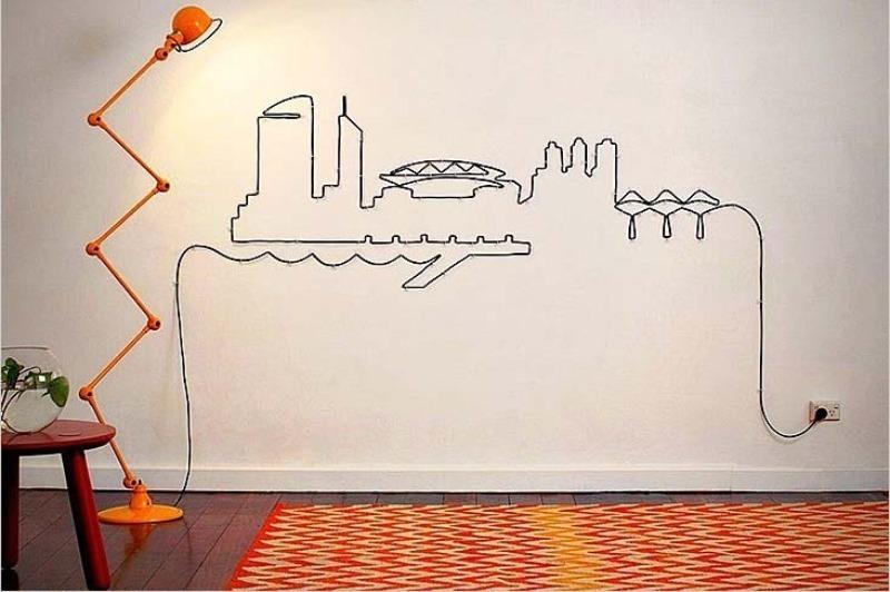 Простой способ не повредить провода при сверлении стены
