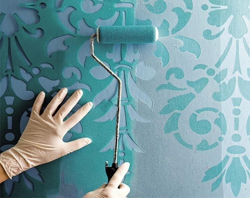 Узоры на стене