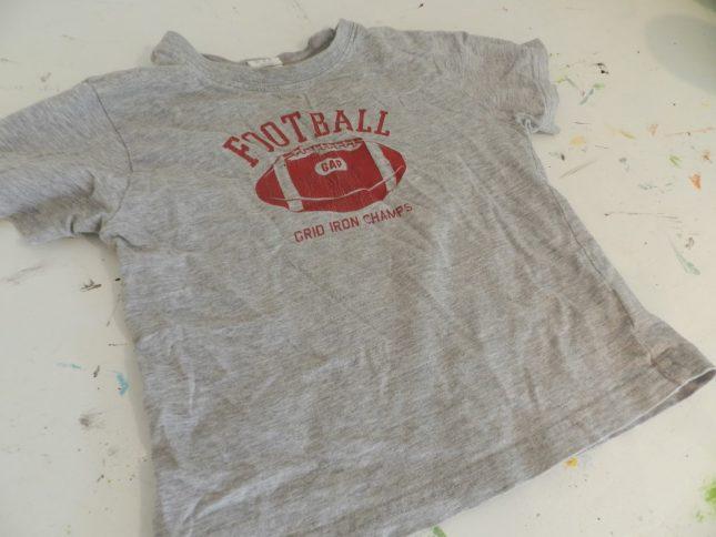 старая футболка