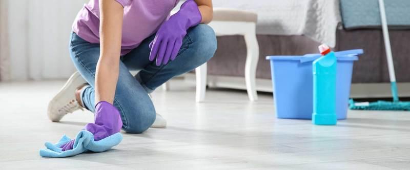 Вместо половой тряпки — чем нельзя мыть полы