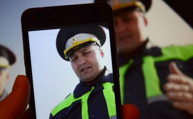 видеосъёмка инспектора ДПС