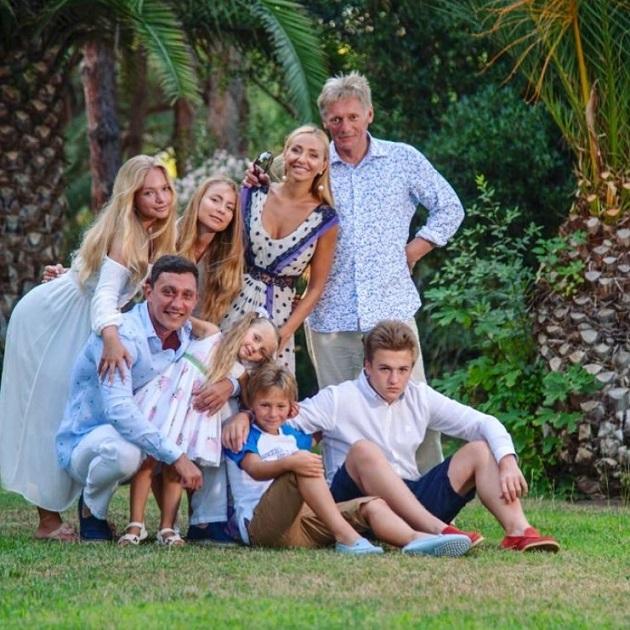 семья Дмитрия Пескова