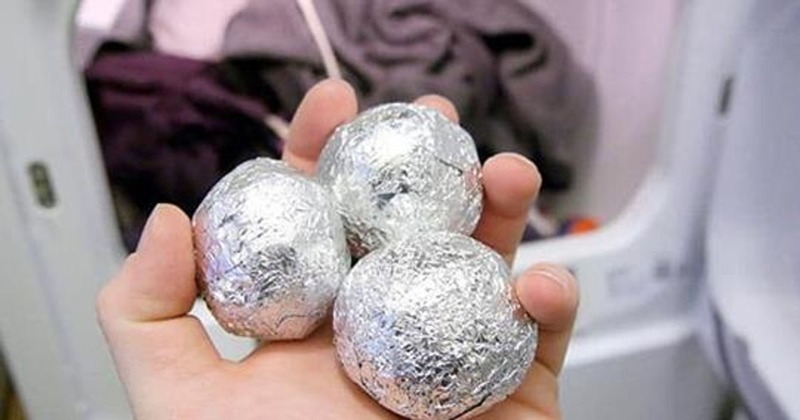 Почему шарики из фольги не помогают при стирке