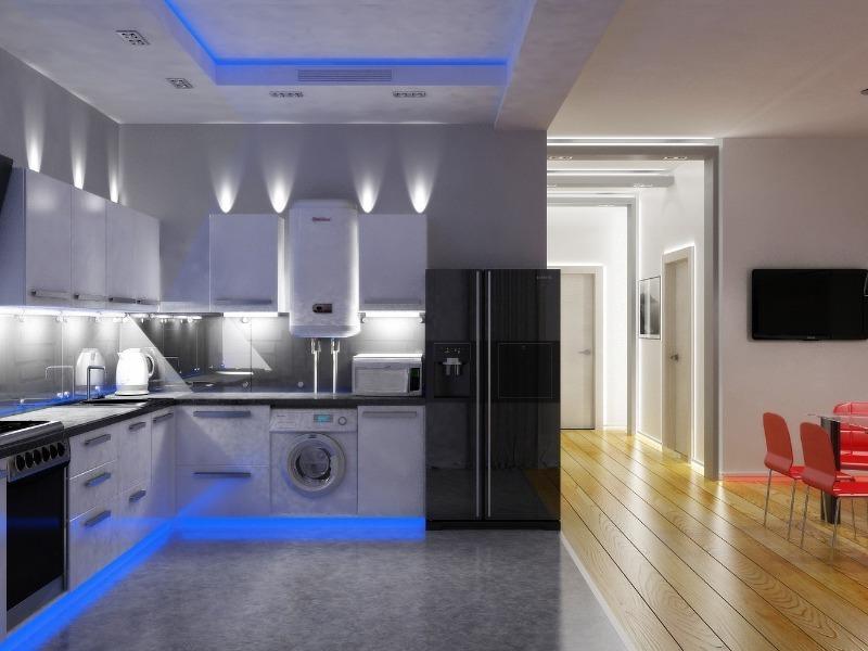 5 правил, которые помогут сделать уютной и удобной даже маленькую кухню