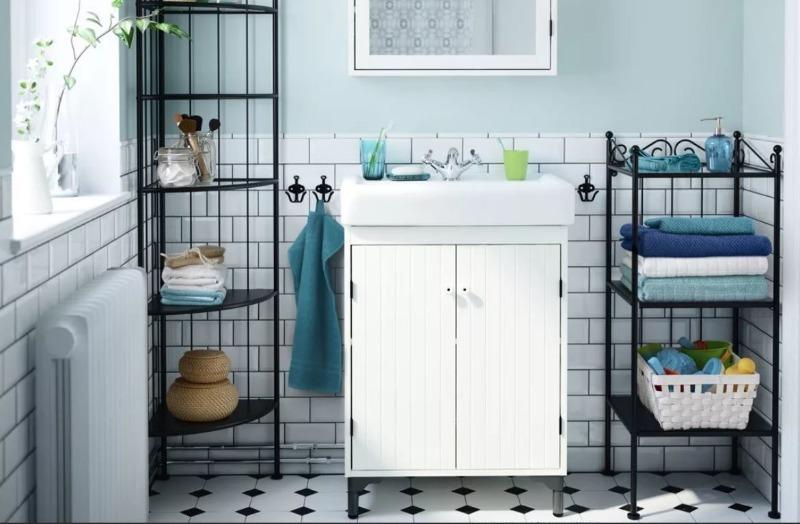 7 идей, как сделать маленькую ванную комнату удобной и красивой