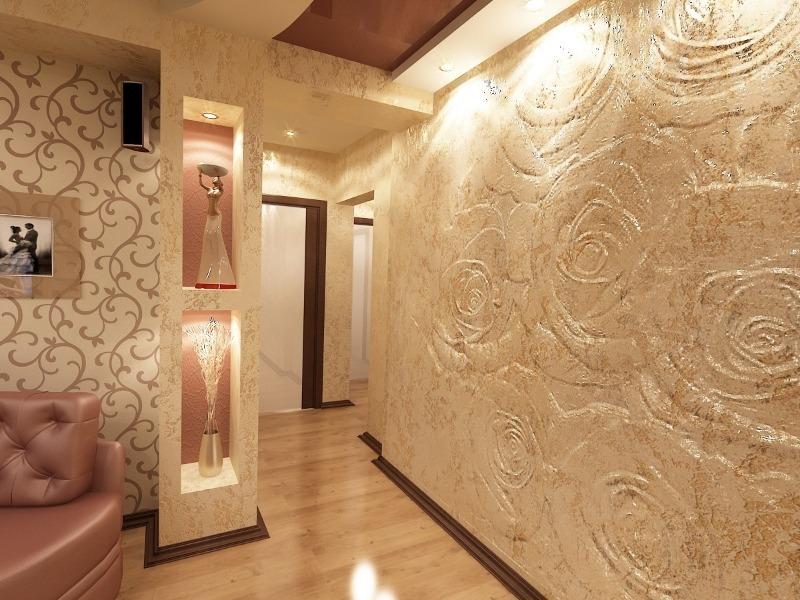 Простой способ, как быстро сделать ремонт в квартире с неровными стенами