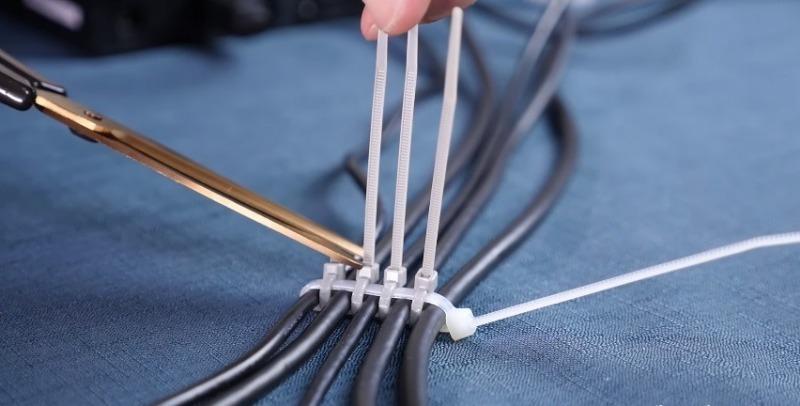 13 способов решить мелкие проблемы в быту с помощью кабельной стяжки